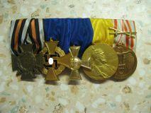 Колодка на 5 наград пмв-вв2.