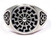Перстень черное солнце.