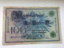 Немецкие Рейхсмарки.