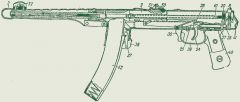 Пистолет-пулемёт Судаева под СХП.
