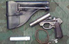 Вермахт кобура Leuchtpistole 42.