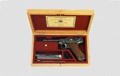 Щечки на пистолет -Luger  P08.