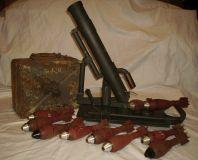 Макет немецкого 50-мм миномета.