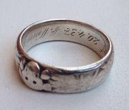 Кольцо «Мёртвая голова» Totenkopfring, SS-Ehrenring