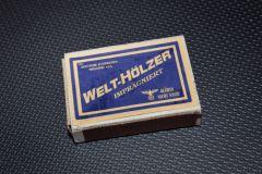 Спички Welt-Holzer Вермахт.