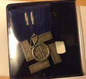 Крест 12 лет выслуги в СС.
