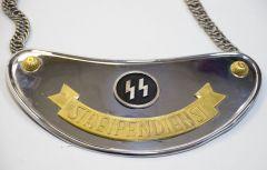 Горжеты патрульной службы SS-Streifendienst-SS'funkschutz.