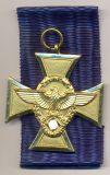 Выслуга в полиции Вермахт 25 лет.
