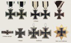 Железный крест 2 класса 1 мировая война.